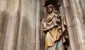 Marienstatue in der Votivkirche