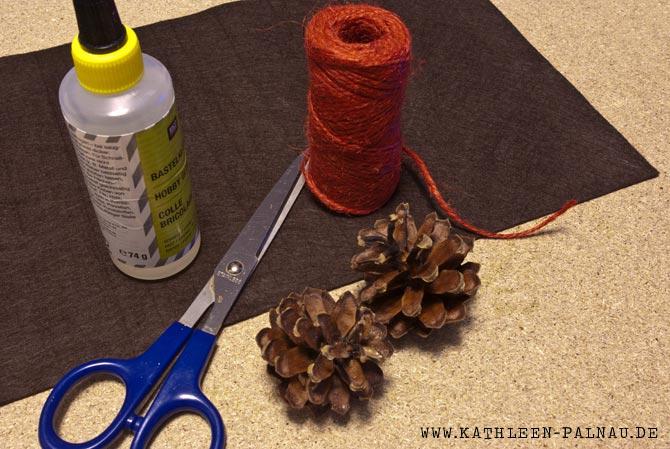 Material für die Zapfenblüten