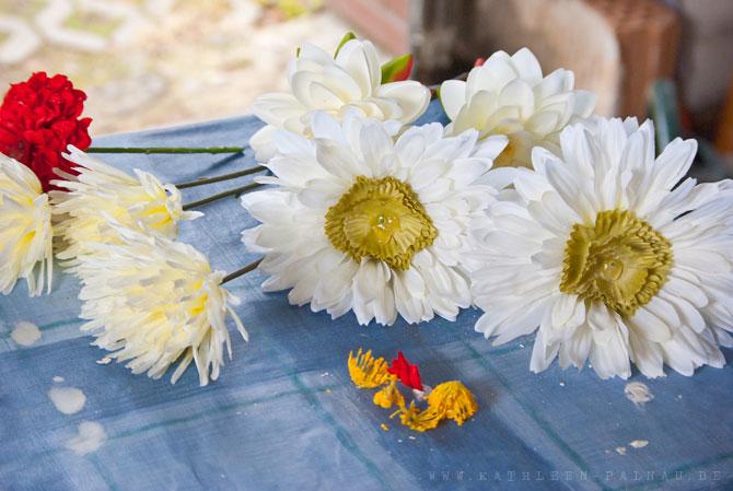Blüten vorbereiten