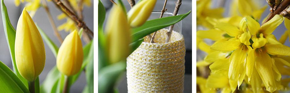 Vasenhülle und Blume