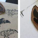Ein Body im Linoldruck für unseren kleinen Browncoat