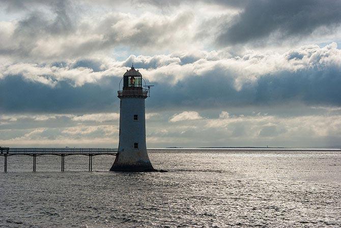 Leuchtturm am Shannon