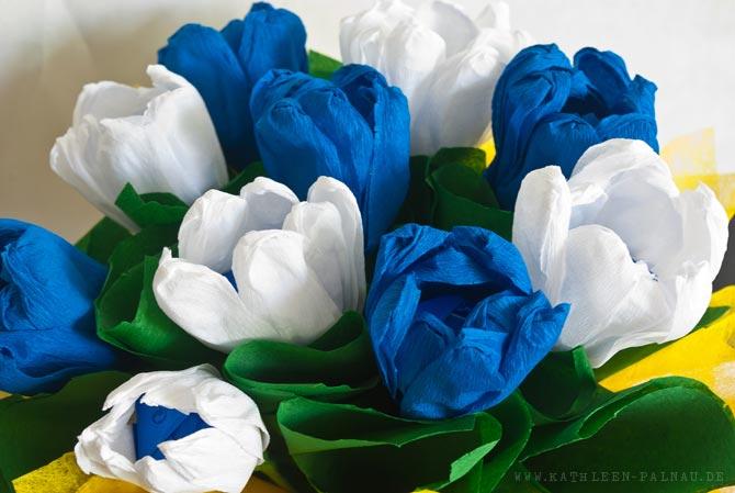 Fertiges Blumengesteck