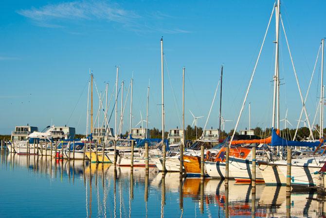 Hafen in Bork Havn