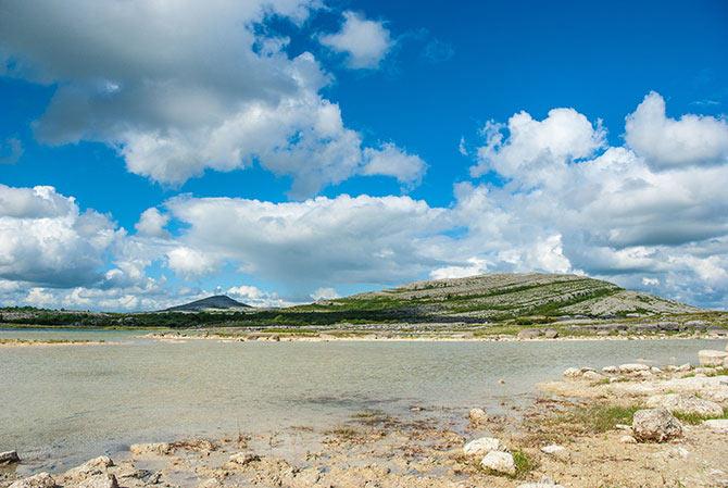 Weißer See im Nationalpark Burren