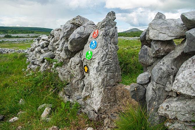 Burren Wanderweg