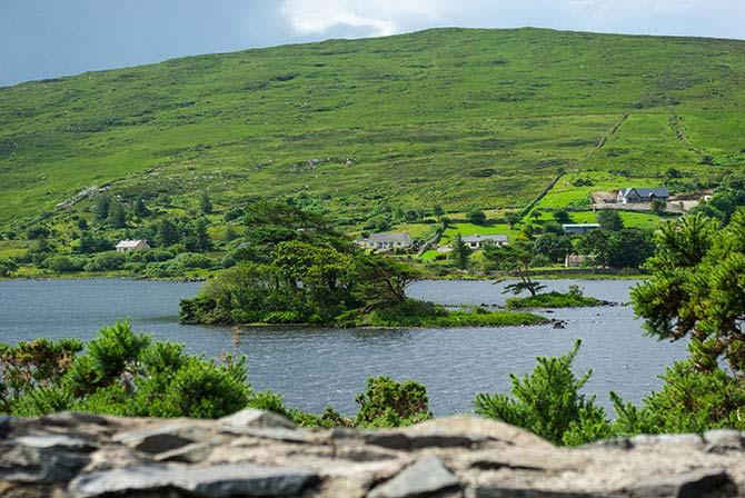 Windgepeitschte Insel in Connemara