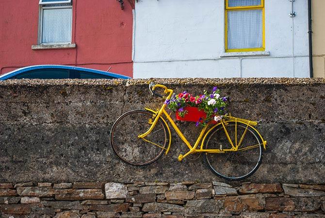 Fahrraddeko in Clifden