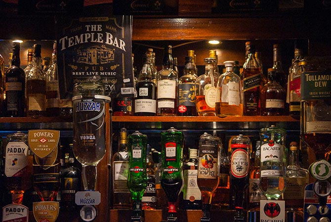 Angebot in der Temple Bar