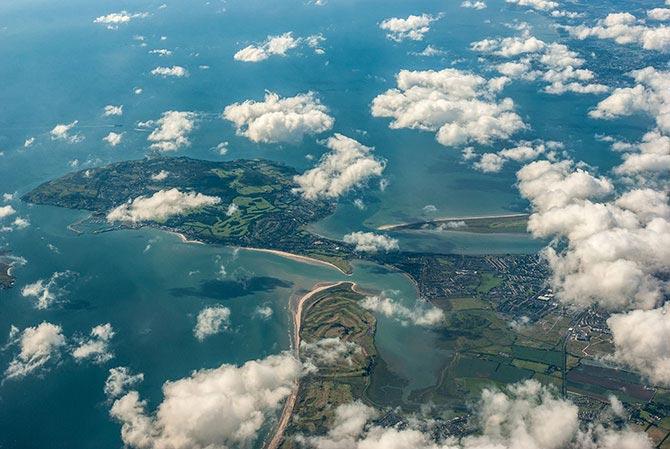 Letzter Blick auf die irische Insel