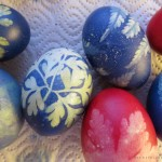 Ostereier färben für Anfänger