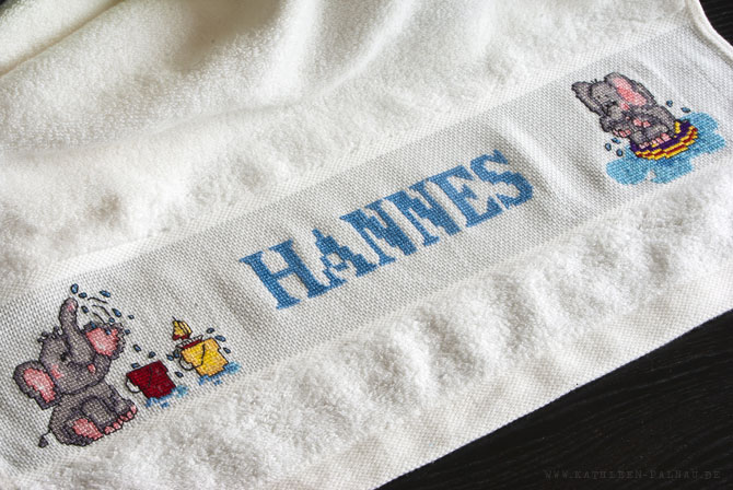 Hannes Elefanten-Handtuch