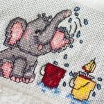 Ein Elefanten-Handtuch für Hannes