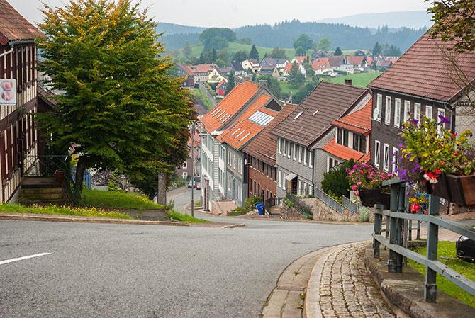 20% Steigung in Sankt Andrasburg