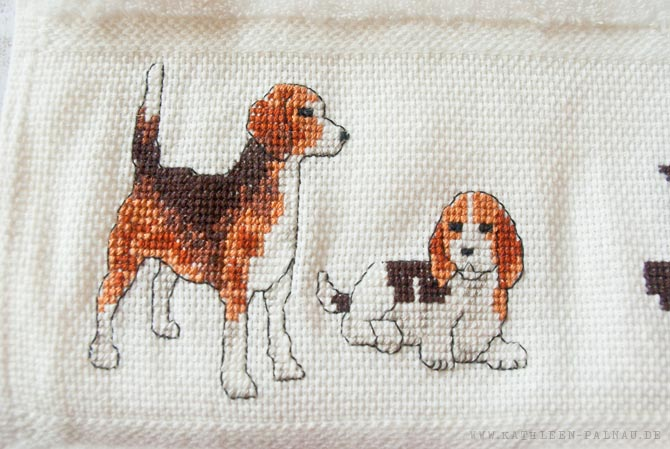 Julians Handtuch - Beagle links