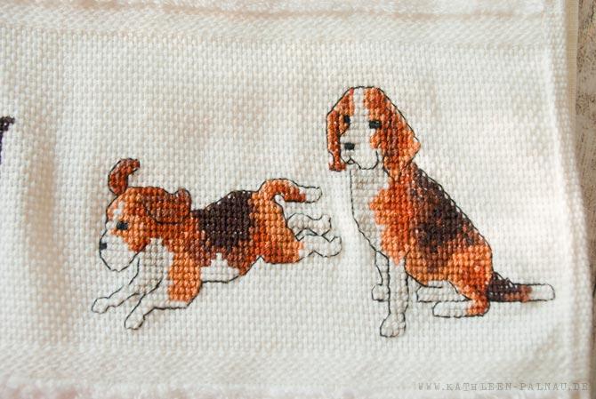 Julians Handtuch - Beagle rechts