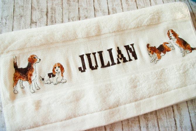 Julians Handtuch
