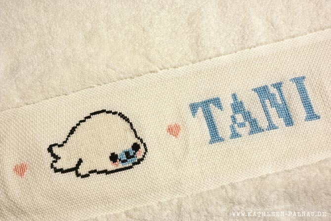 Handtuch für Tani mit Robbe