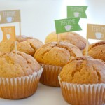 Teatime-Muffins mit Fähnchen