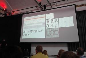 Typografie-Vortrag von Erik Spiekermann