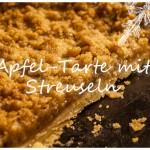 Leckere Apfel-Tarte mit Streuseln