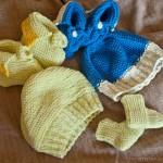 Gestrickte Babysachen für unseren kleinen Schatz