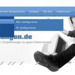 WordPress: Dynamische Navigation mit Child-Elementen