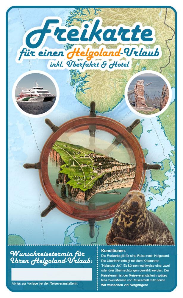 Vorlage der Helgoland-Karte