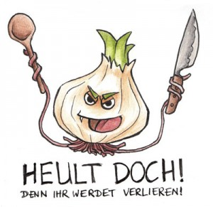 Zwiebel-Gruppenlogo: Die Kochzwiebel!