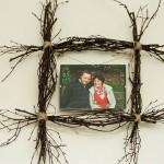 DIY: Individueller Rahmen aus Birkenzweigen